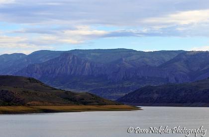 Blue Mesa Reservoir near Gunnison, CO