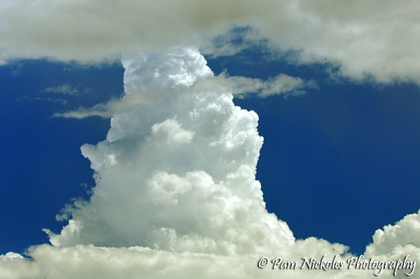 Parting shot - an interesting cloud formation.